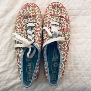 Keds / Womens Floral Sneaker Excellent Condition